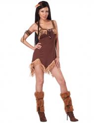 Disfraz de india del oeste mujer