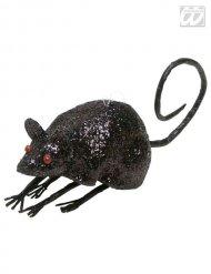 Decoración ratón negro