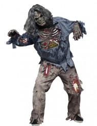 Disfraz zombie terrorífico hombre Halloween