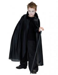 Capa vampiro negra niño