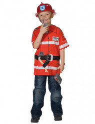 Camiseta bombero niño