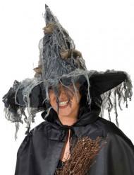 Sombrero de bruja mujer