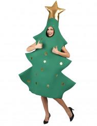 Disfraz árbol de Navidad 3D adulto
