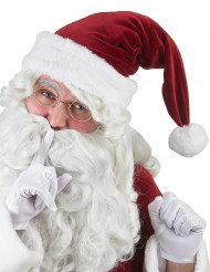 Gorro de Navidad super lujo adulto