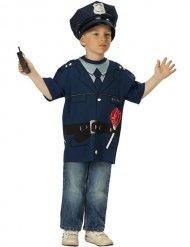 Camiseta oficial de policía niño