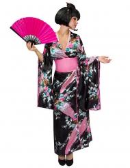 Disfraz kimono japonés mujer
