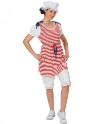 Disfraz traje de baño retro para mujer