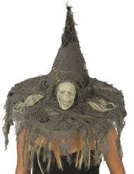 Sombrero de bruja cráneo