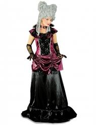 Disfraz barroco violeta y negro mujer