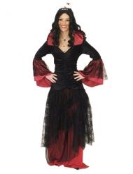Disfraz reina de las tinieblas mujer Halloween