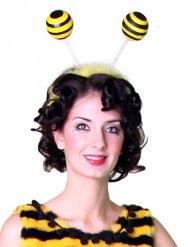 Diadema con antenas abeja