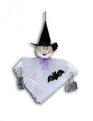 Decoración para colgar fantasma pequeño Halloween