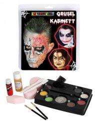 Paleta de maquillaje de horror multicolor