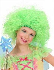 Peluca niño verde