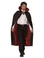 Capa de vampiro niño rojo y negro