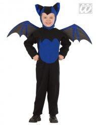 Disfraz murciélago negro y azul niño Halloween