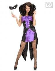 Disfraz reina vampiro gótico mujer