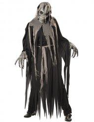 Disfraz zombie cráneo ani-motion hombre Halloween