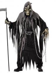 Disfraz segador negro adulto Halloween