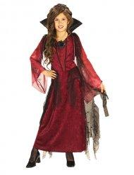 Disfraz vampira gótica niña