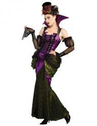 Disfraz mujer vampiro victoriana