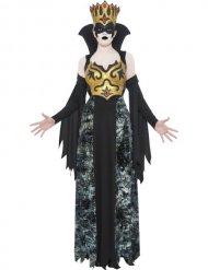 Disfraz reina negra mujer