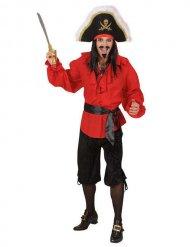 Bermuda de pirata negro hombre