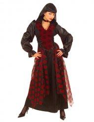 Disfraz bruja elegante mujer