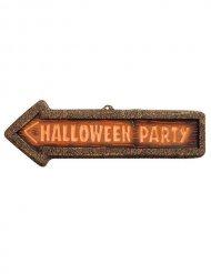 Placa de señalización decoración Halloween
