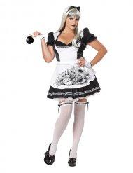 Disfraz Alicia malvada Halloween mujer talla grande