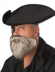 Barba gris pirata de Caribe hombre