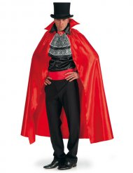 Kit vampiro con capa y pechera hombre