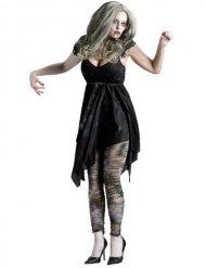 Disfraz zombie sexy negro mujer
