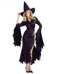 Disfraz bruja negro mujer Halloween