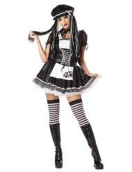 Disfraz muñeca de trapo gótico mujer