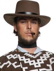 Sombrero sheriff del Oeste marrón hombre