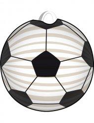 Linterna fútbol blanco-nero
