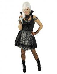 Disfraz mujer gótica sexy