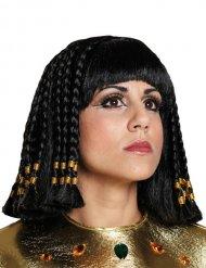 Peluca egipcia de Cleopatra mujer