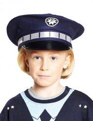 Gorra policía azul