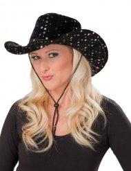 Sombrero cowgirl negro
