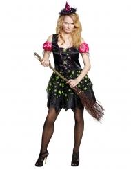 Disfraz bruja mujer Halloween