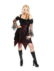Disfraz bruja gótica Halloween mujer