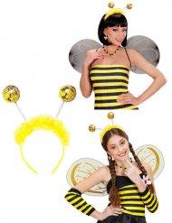 Antenas de abeja con pelo adulto