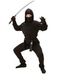Disfraz ninja negro para niño