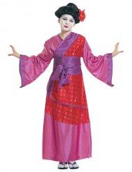 Disfraz de geisha china niño