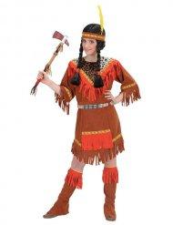 Disfraz india colorido niño