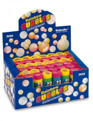 Pompas de jabón multicolor 60 ml
