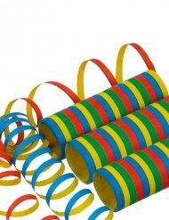 Rollo serpentina multicolor 400 x 0.7 cm