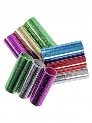 3 Serpentinas metálicas de colores